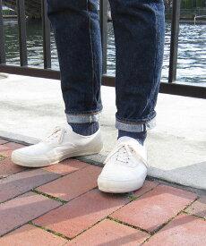 【ポイントアップ10倍!】French Bull(フレンチブル)Jake MEN'S リネン ショート 靴下 シャインソックス・214-122-1852001【メール便可能商品】[M便 3/5]【メンズ】【JP】【■■】