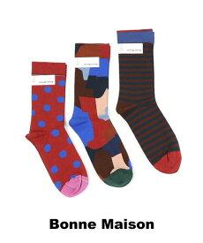 【ポイントアップ20倍!】Bonne Maison(ボンヌメゾン) 靴下 ショートソックス Un Reve 夢・UR-2800-3611902【メール便可能商品】[M便 2/5]【レディース】