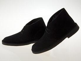 クラークス CLARKS DESERT BOOTS デザートブーツ BLACK SUEDE ブラック スエード #26138227