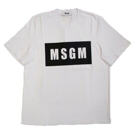 *[MSGM]* MEN'S T-SHIRT エムエスジーエム メンズ Tシャツ