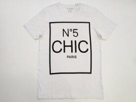 *[NO COMMENT PARIS]* MEN'S T-SHIRT ノーコメントパリ メンズ T シャツ- No5 CHIC -