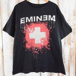 EMINEMヒップホップTシャツエミネム音楽hiphopミュージシャン【古着】【ヴィンテージ】【中古】【メンズ店】