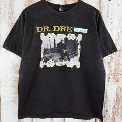 """90'sDR.DRE""""THECHRONIC""""USA製ラッパーTシャツ90年代ドクタードレバンドバンt【古着】【ヴィンテージ】【中古】【メンズ店】"""