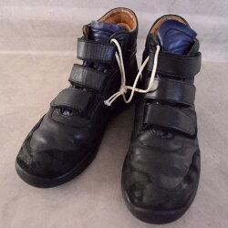 GermanAirForceVelcroPilotShoes26cmドイツ軍ミリタリーパイロットシューズ靴スニーカー【古着】【ヴィンテージ】【中古】【メンズ店】