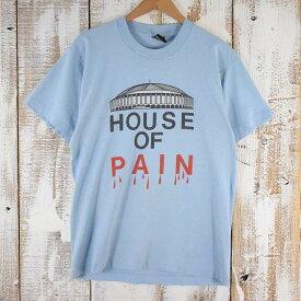 90's HOUSE OF PAIN USA製 ヒップホップTシャツ L 90年代 ハウス・オブ・ペイン アメリカ製 ライトブルー 水色 【古着】 【ヴィンテージ】 【中古】 【メンズ】
