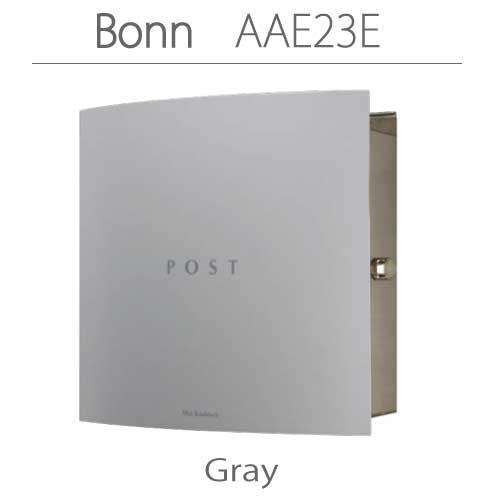 郵便ポスト:ドイツ製マックスノブロック・壁掛型ポスト・ボン-グレー[P-313]【fsp2124-6f】【あす楽対応不可】