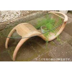 チークガラステーブル(塗装) 36324(室内用)ジャービス商事[F-748] 【送料無料】 ガーデンテーブル ガーデンチェア ガーデンファニチャー
