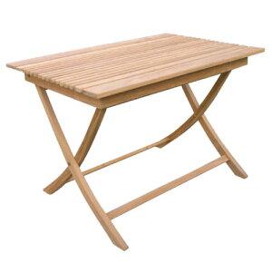 折り畳みスクエアテーブルA 20862 ジャービス商事[F-633] 【送料無料】 ガーデンテーブル ガーデンチェア ガーデンファニチャー