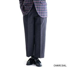 KESTIN HARE WICK TROUSER (2色 CHARCOAL/FLANNEL GRAY) 3456-1037-1 KESTINHARE ケスティンエア トラウザー パンツ ウール スコットランド メンズ 送料無料