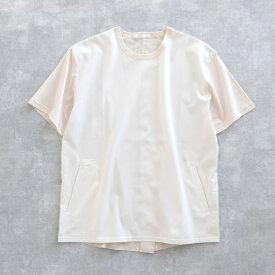 【SALE 30%OFF】 DISCOVERED BACK BENT TEE (WHITE) DC-PF16-PO-05 ディスカバード Tシャツ プルオーバー テンセル スーピマ メンズ 送料無料
