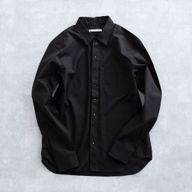 【SALE 50%OFF】 DISCOVERED FRONT STUD'S SHIRT (2色 BLACK/WHITE) DC-S17-SH-02 ディスカバード スタッズ シャツ デザインシャツ フライフロント 比翼 メンズ 送料無料