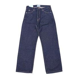 SERGE DRY BAGGY (INDIGO) 07040532 サージ ドライ バギー リジット フラワーオイル トリートメント 日本製 デニム ジーンズ パンツ メンズ 送料無料