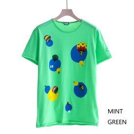 DANIELE ALESSANDRINI MAGLIA FILIPPO ST (2色 MINT GREEN/WHITE) 211-63941002 ダニエレアレッサンドリーニ 気球 バルーン Tシャツ カットソー イタリア メンズ 送料無料