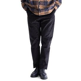 KESTIN HARE INVERNESS TROUSER CORDUROY (BLACK) 3656-1023-1 ケスティンエア コーデュロイ テーパード トラウザー イージーパンツ パンツ スコットランド メンズ 送料無料