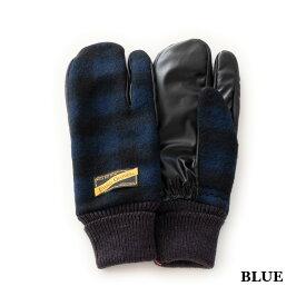 EVOLG EXIST (4色 BLUE/RED/WHITE/GREEN) LET2705 エヴォルグ GLOVE グローブ 手袋 ミトン タッチパネル対応 タッチスクリーン対応 防寒 雑貨 メンズ ユニセックス 男女兼用 送料無料