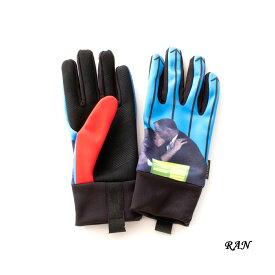 EVOLG WIZARD (3色 RAN/TERA/REI) LET2708 エヴォルグ GLOVE グローブ 手袋 グラフィック タッチパネル対応 タッチスクリーン対応 防寒 雑貨 メンズ ユニセックス 男女兼用 送料無料