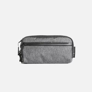 Aer Dopp Kit (Gray) AER-22004 エアー ドップキット ヘザードエコポリエステル トラベル 小物入れ コンパクト pouch ポーチ bag バッグ ユニセックス 男女兼用 メンズ 送料無料
