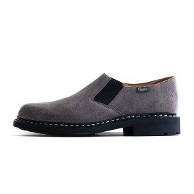 Paraboot PHOTON Velour (Gris) 145746 パラブーツ フォトン ベロア グレー スウェード 革靴 ドレスシューズ レザー ラバーソール シューズ 靴 メンズ 送料無料