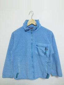patagonia/パタゴニア ジップアップ フリースジャケット 水色系 Made in U.S.A【サイズ:Men's XXS位】【レディース】【OUTDOOR】【中古】【あす楽対応】【古着屋mellow楽天市場店】