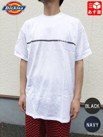 【ゆうパケット対応】ディッキーズ/Dickies ロゴプリント Tシャツ 半袖 サイズ:L, XL, 2XL カラー:WHITE, BLACK, NAVY Made in U.S.A デッドストック Deadstock 【新古品】新古品 mellow【あす楽対応】【古着 mellow楽天市場店】