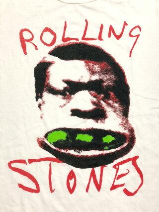 """【ゆうパケット対応】ザ・ローリング・ストーンズ/TheRollingStones""""メインストリートのならず者""""プリントバンドTシャツ半袖サイズ:M,Lホワイト【新品】新品mellow【あす楽対応】【古着屋mellow楽天市場店】"""