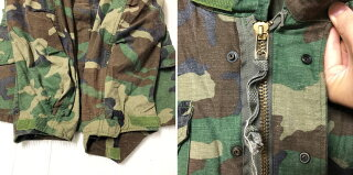 83年製アメリカ軍U.S.ARMYM-65ウッドランドカモフィールドジャケットサイズ:X-SMALLREGULAR【ミリタリージャケット】【古着】古着【中古】中古mellow【あす楽対応】【古着屋mellow楽天市場店】
