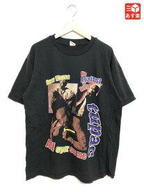 【ゆうパケット対応】トゥーパック/2PAC 両面プリント Tシャツ 半袖 サイズ:XL ブラック【新品】 新品 mellow 【あす楽対応】【古着屋mellow楽天市場店】