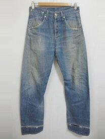 EURO Levi's Engineered Jeans/ユーロ リーバイス エンジニアード ジーンズ デニムパンツ 色落ち ダメージ Made in POLAND【W29 L30.5】【ジーンズ】【立体裁断】【中古】【あす楽対応】【古着屋mellow楽天市場店】