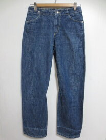 【中古】EURO Levi's Engineered Jeans/リーバイス エンジニアード ジーンズ デニムパンツ 色落ち Made in MALTA【W29 L27】【ジーンズ】【クロップド】【立体裁断】【レディース】【あす楽対応】【古着屋mellow楽天市場店】