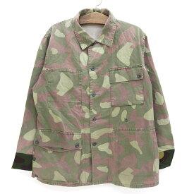 84's Finland Military フィンランド軍 M62 リバーシブル フィールドジャケット 迷彩 カモフラ サイズ:52 【古着】 古着 【中古】 中古 mellow 【あす楽対応】【古着屋mellow楽天市場店】