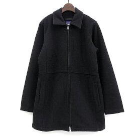 パタゴニア/patagonia ジップアップ ウールジャケット サイズ:Women's 10 ブラック 【古着】 古着 【中古】 中古 mellow 【あす楽対応】【古着屋mellow楽天市場店】