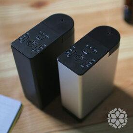 FOND アロマディフューザー ディフューザー ネブライザー 水を使わない 車用 コンパクト usb 車 コードレス 小型 充電式 車載 卓上 かわいい 静か オフィス 容器 ミント ユーカリ リード ローズマリー pb