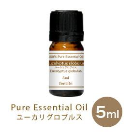 ユーカリグロブルス5ml エッセンシャルオイル 100%ピュア アロマオイル 精油