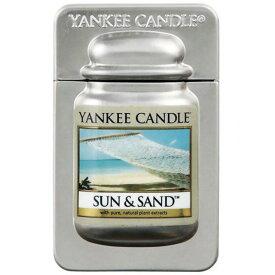 YANKEE CANDLE ヤンキーキャンドル トラベルティン サン&サンド ルームフレグランス 車 芳香剤 アロマ 香り袋 nb