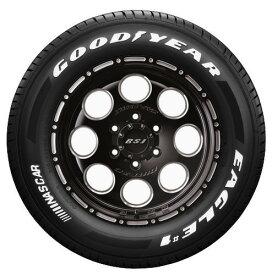 【取付対象】数量限定 200系ハイエース用!JF008M(ブラッククリア)&GOODYEAR EAGLE #1 NASCAR 215/65-16C 4本セット