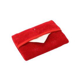 フェイラー公式/LOVERARY ラブラリープリティカラー リボン刺繍ティッシュポーチ L/LPC-163130