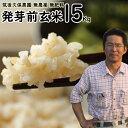 無農薬 無肥料 発芽前玄米15Kg|福岡県産 ゆめつくし0.5分づき米筑後久保農園自然栽培米