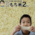 無肥料栽培もち米2Kg|福岡県産ひよくもち筑後久保農園選べる玄米分づき白米