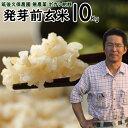 無農薬 ボカシ肥料 発芽前玄米 10Kg 福岡県産 元気つくし0.5分づき米筑後久保農園