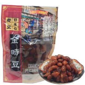 日本の煮豆 金時豆 160g  ポスト投函専用国産原料食品添加物 無添加北海道産 金時豆ほんぽ の煮豆