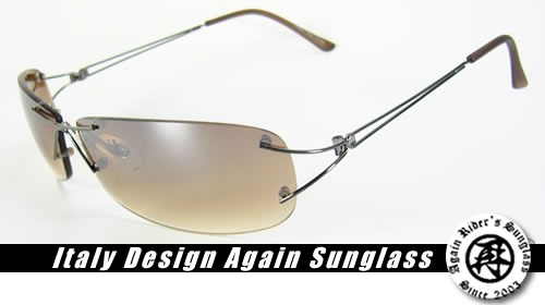 ◆◇イタリーデザイン◇◆AGAINサングラス正規品シャープなシルエットがオシャレなサングラスです♪