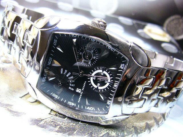 訳あり電池切れ≪最後の1本≫イタリー腕時計[生産終了]未来型マルチファンクション/アルマーニ天才デザイナーROBERTA SCARPA[送料無料]