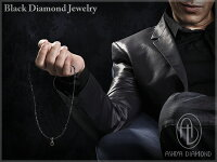 ブラックダイヤモンド&グレースピネル総重量50ctネックレス