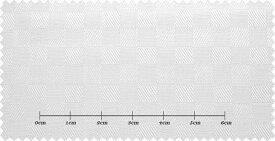 ファーストコレクション ホワイト系 シャドーチェック オーダーシャツ 綿50% ポリ50% 3000310047 【RCP】