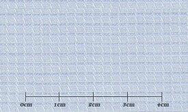 ファーストコレクション ブルー系 チェック オーダーシャツ 綿50% ポリ50% 3090340430 【RCP】