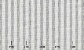 ファーストコレクション グレー系 ストライプ オーダーシャツ 綿50% ポリ50% 3090350001 【RCP】