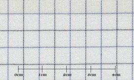 ファーストコレクション ホワイト系 チェック オーダーシャツ 綿50% ポリ50% 3090350012 【RCP】