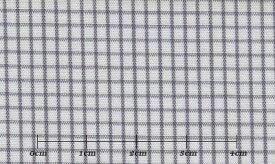 ファーストコレクション グレー系 チェック オーダーシャツ 綿50% ポリ50% 3090370058 【RCP】