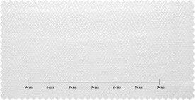 エグゼグティブ ホワイト系 ヘリンボン オーダーシャツ 綿100% ポリ00% 3300420043 【RCP】