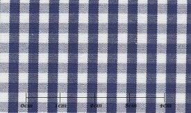 ハイクオリティ ブルー系 チェック オーダーシャツ 綿100% ポリ00% 4920740122 【RCP】